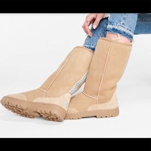 UGG Ultra Tall Revival Boot Sand Brown Size 6
